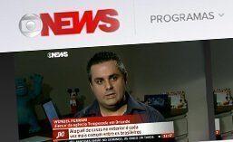 Reportagem para o Jornal da GloboNews