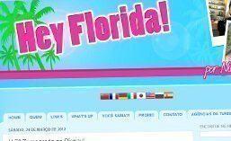 Matéria do site Hey Florida
