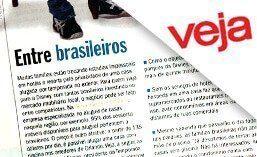Matéria para a revista VEJA