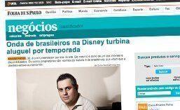 Matéria para o jornal Folha de São Paulo