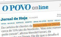 Matéria para o jornal O Povo Online – Fortaleza