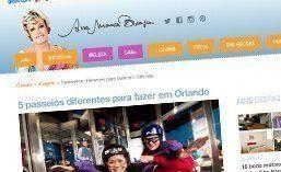 Matéria para o site Ana Maria Braga