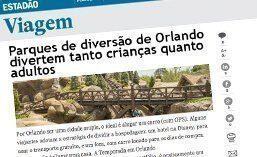 """Matéria para o Site """"ESTADÃO VIAGEM""""."""