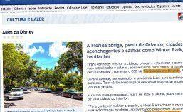 Matéria para o site O Fluminense
