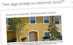 Matéria para o site ESTAMOS RICOS