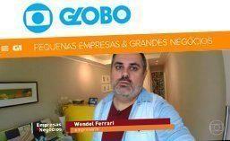 Matéria para a Rede Globo